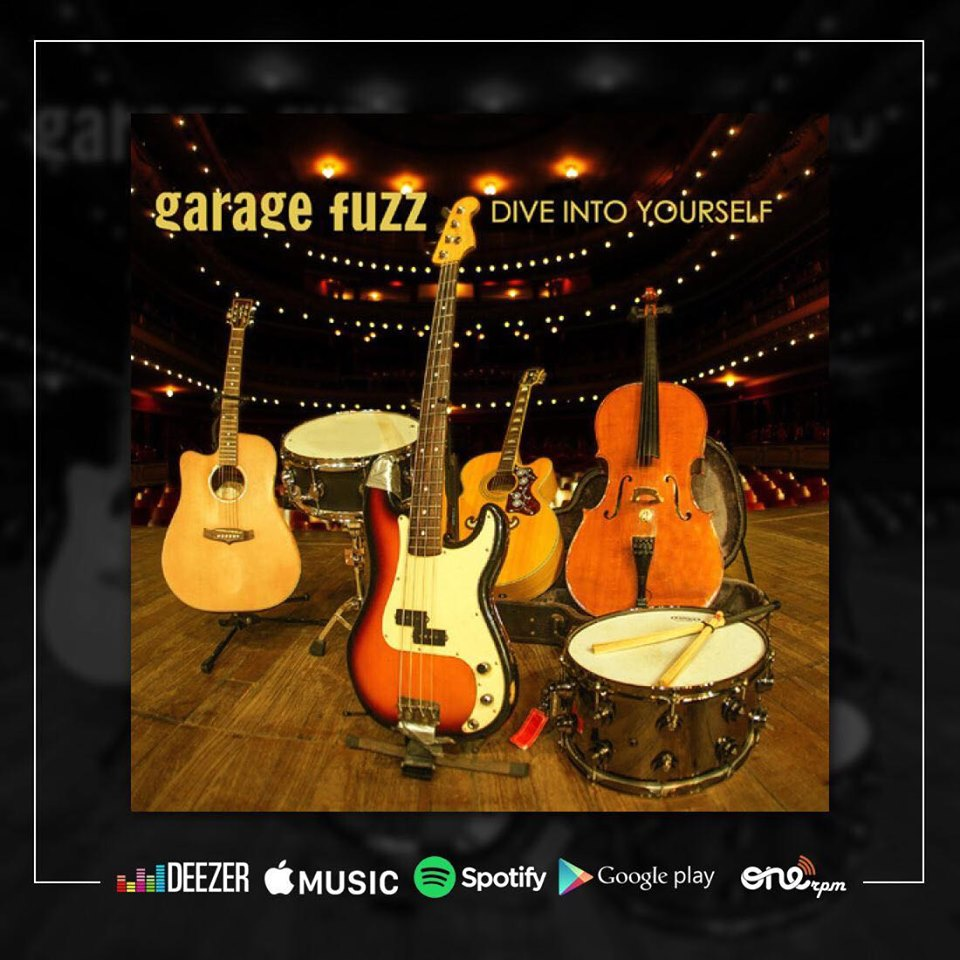 "Garage Fuzz disponibiliza álbum ao vivo e acústico: ""Dive into Yourself"""