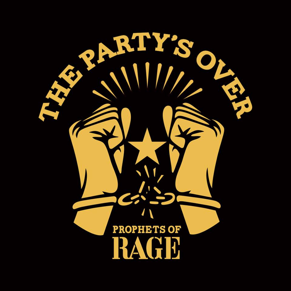 Prophets Of Rage - the partys over