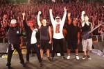 "Ouça Prophets of Rage tocando versão de ""No Sleep 'Till Brooklyn"" do Beastie Boys"