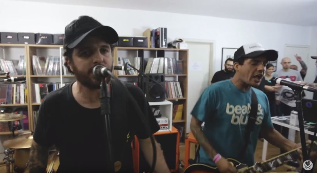 "Running Like Lions toca no ""HBB Live Sessions"""