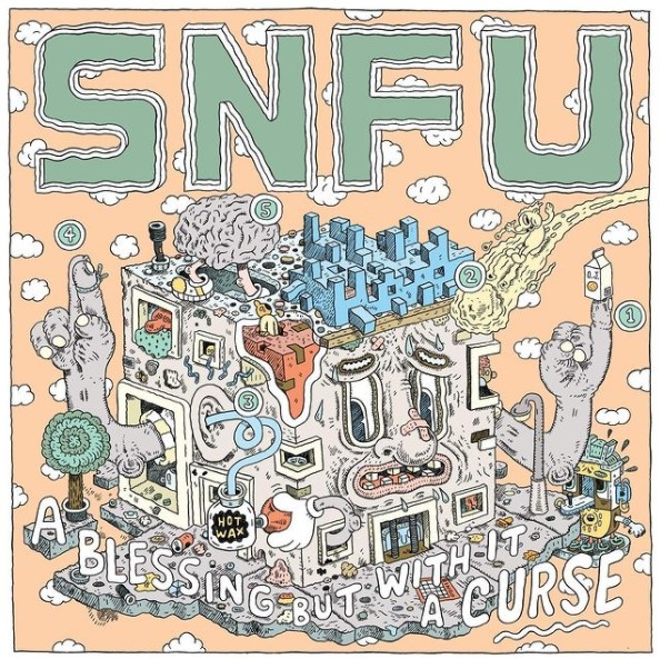 "SNFU lançará novo álbum com participação do Propagandhi: ""A Blessing But With It A Curse"""