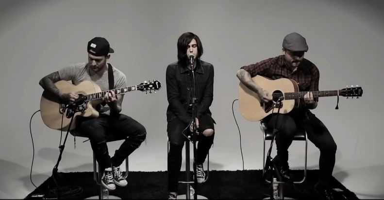 Sleeping With Sirens acustico