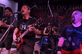Statues on Fire live at Truetone Records 2016