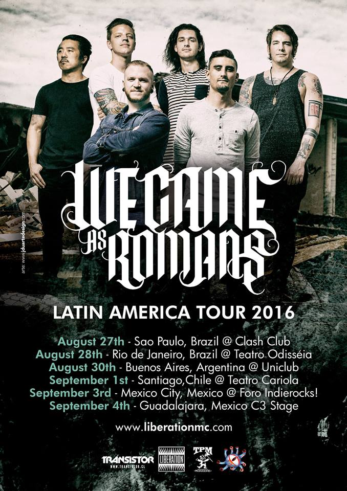 We Came As Romans 2016