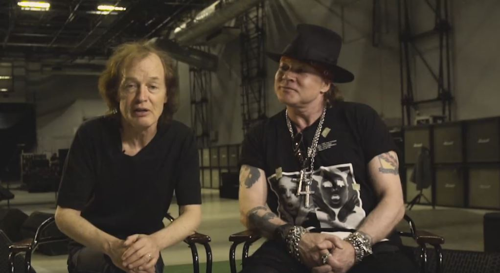 acdc e axl rose