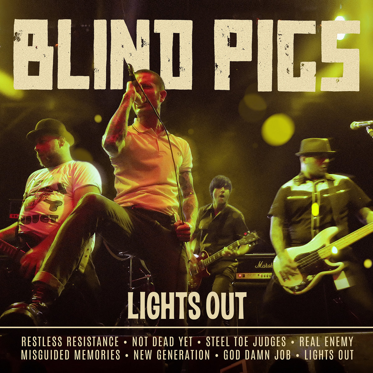 "Blind Pigs lança seu novo álbum póstumo: ""Lights Out"""