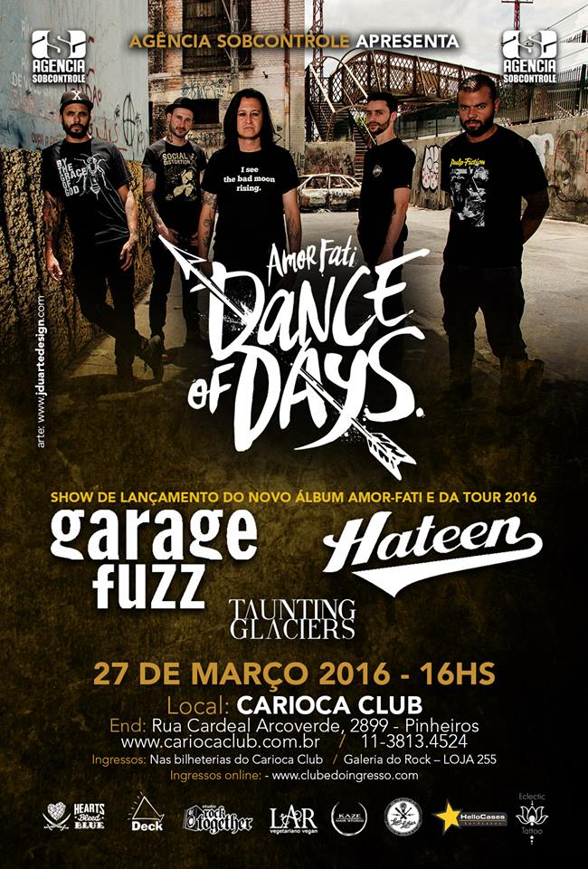 dance of days retorna do hiato