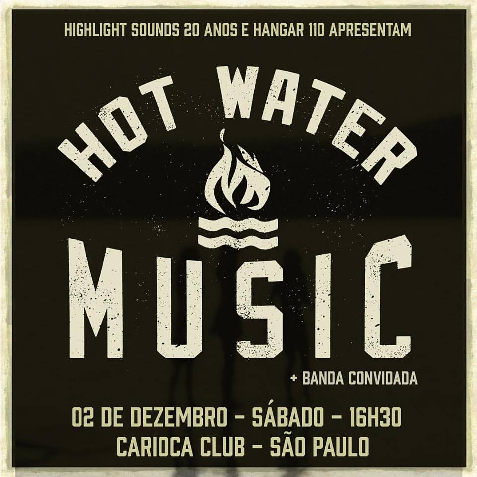 hot water music sao paulo 2017