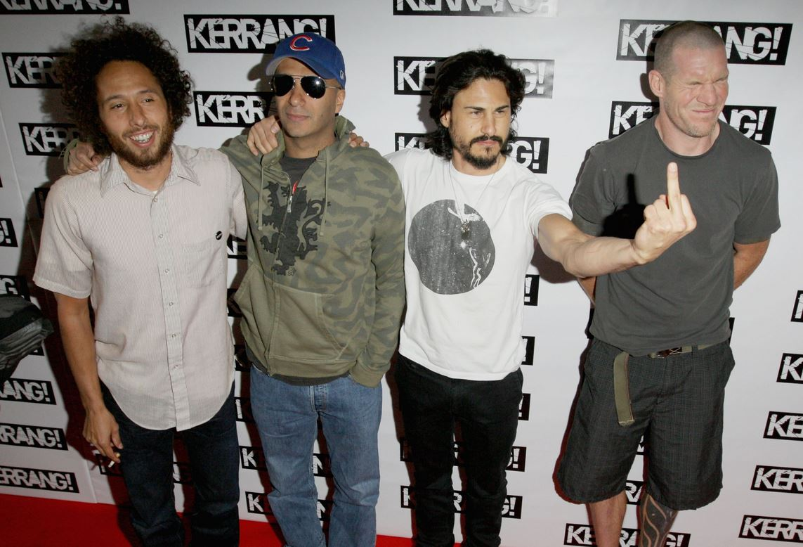 rage against the machine shows
