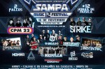 Sampa Music Festival 12 acontece neste domingo com CPM 22, Strike, Dance of Days e mais