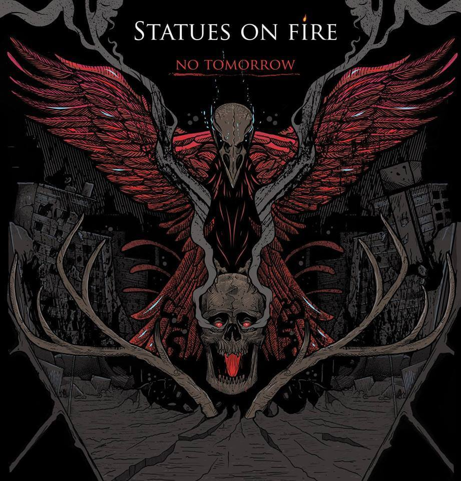 statues-on-fire-no-tomorrow