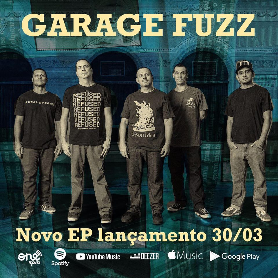 """Garage Fuzz lança EP inédito: """"Take Care of Your Friends"""""""