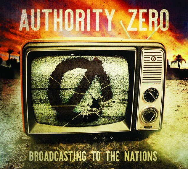 "Authority Zero libera novo álbum: ""Broadcasting To The Nations"""
