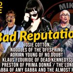 """Bad Reputation"" da Joan Jett ganha cover de membros do Offspring, Dead Kennedys, No Doubt e mais"