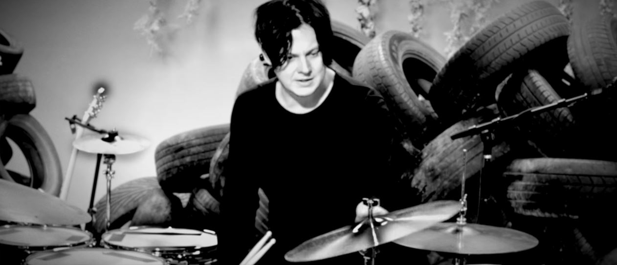 The Dead Weather: Jack White ensina técnicas de bateria