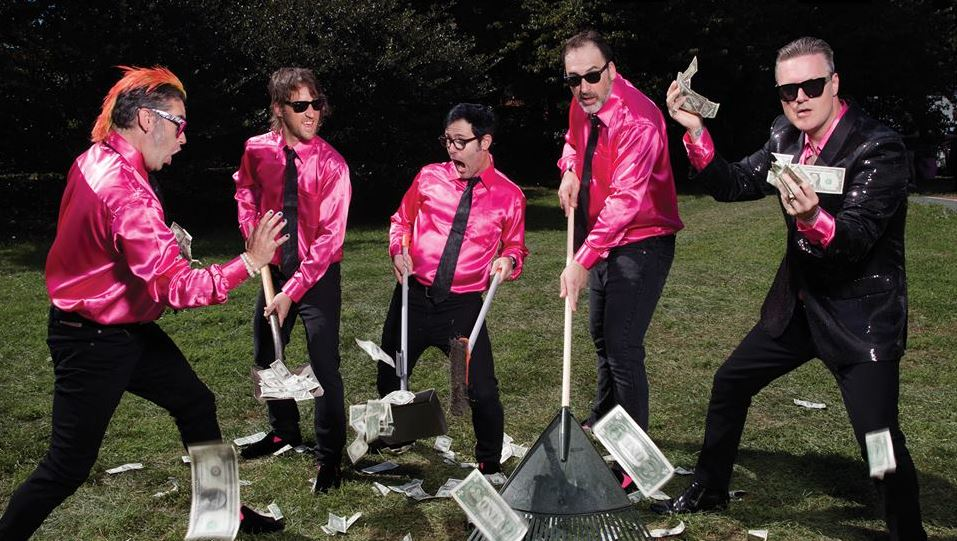 Me First and the Gimme Gimmes deve tocar no Brasil em abril