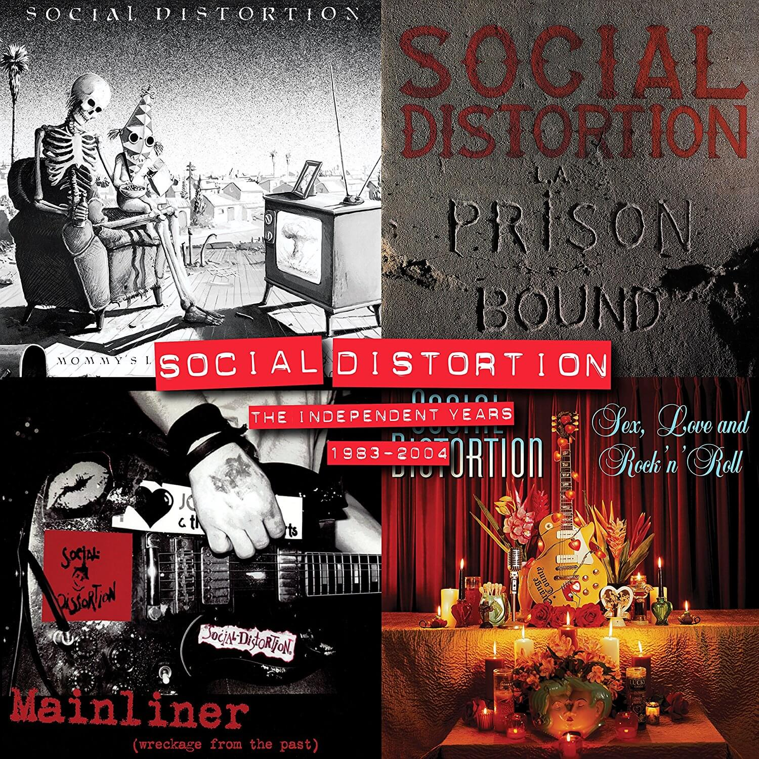 "Social Distortion lançará box com LPs: ""The Independent Years: 1983 – 2004"""