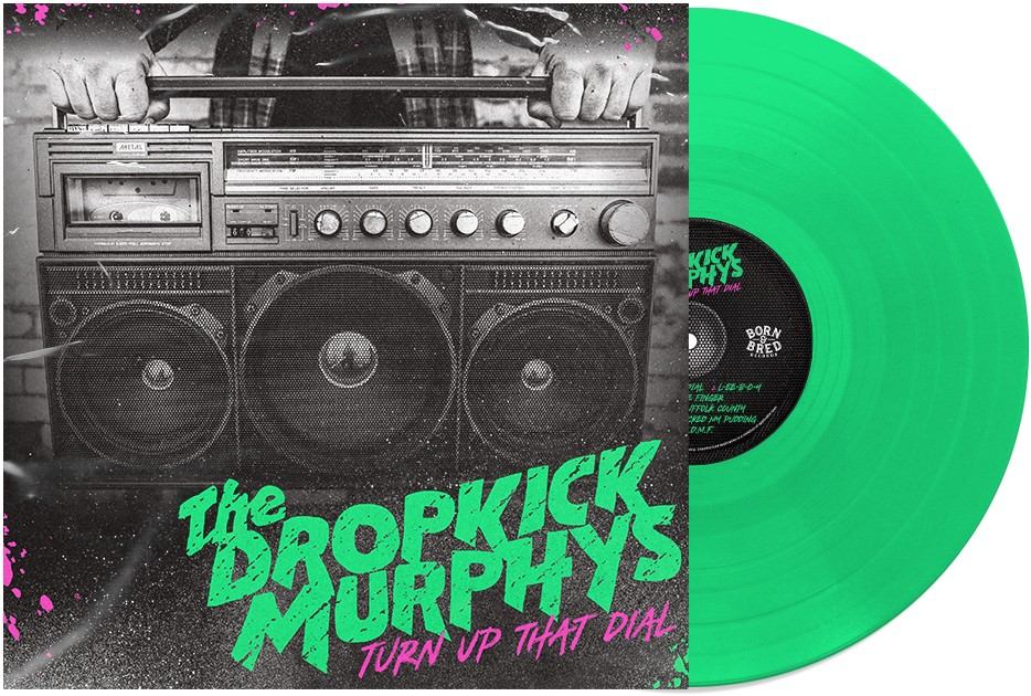"The Dropkick Murphys divulga nova música e anuncia novo álbum: ""Turn Up That Dial"""