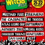 WROS anuncia novo lineup com The Casualties, Atlas Losing Grip e Authority Zero
